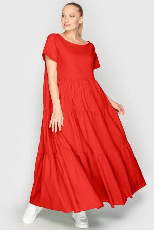 Платье «Баркли» кораллового цвета
