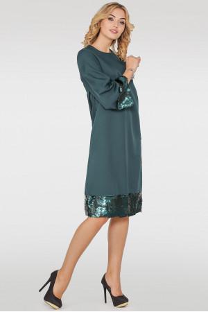 Сукня «Мюрель» темно-зеленого кольору