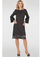 Платье «Мюрель» черного цвета