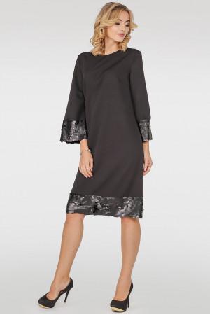Сукня «Мюрель» чорного кольору