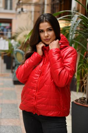 Куртка «Рэйвен» красного цвета