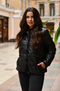 Куртка «Рейвен» чорного кольору