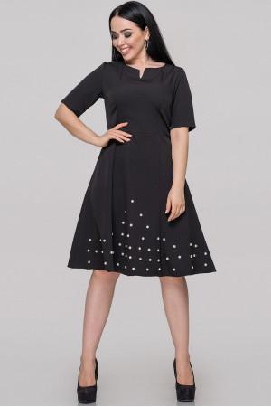 Платье «Ранни» черного цвета
