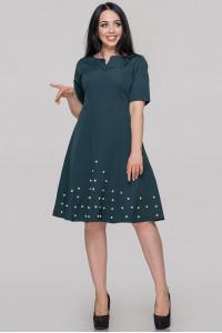 Сукня «Ранні» темно-зеленого кольору
