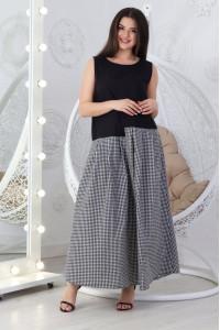 Платье «Арика» черного цвета