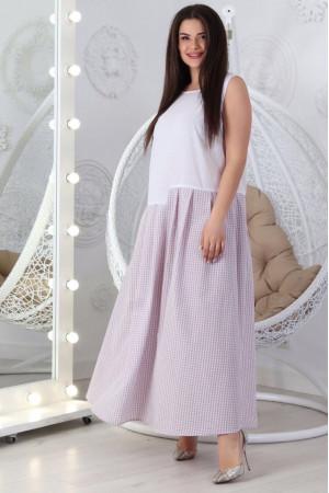 Сукня «Аріка» білого кольору