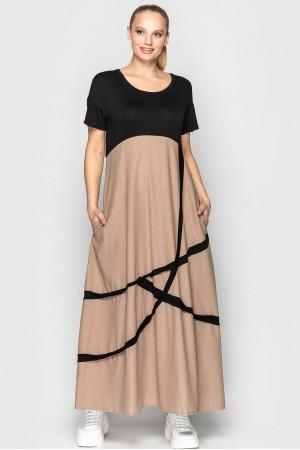 Сукня «Ноемі» кольору мокко