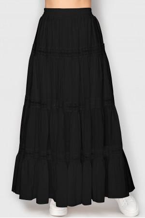 Юбка «Клайс» черного цвета