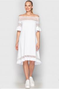 Сукня «Елфі» білого кольору