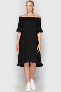 Платье «Элфи» черного цвета