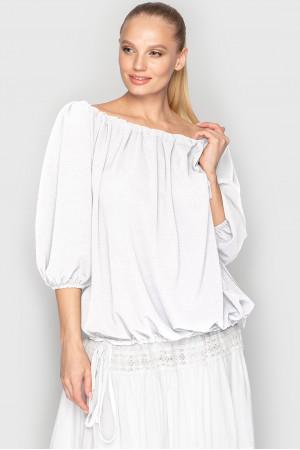 Блуза «Реджі» білого кольору