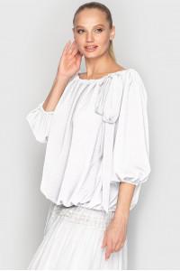 Блуза «Реджи» белого цвета
