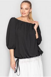 Блуза «Реджі» чорного кольору
