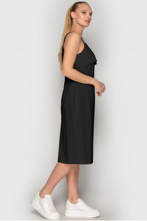 Платье «Колин» черного цвета