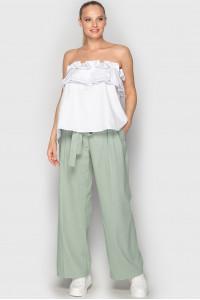 Блуза «Веста» білого кольору