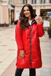 Куртка «Мерая» червоного кольору