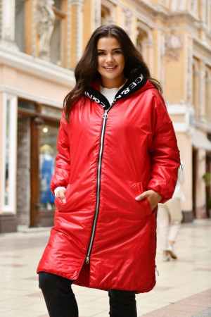 Куртка «Мэрайя» красного цвета