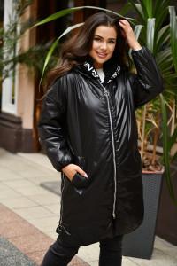Куртка «Мерая» чорного кольору