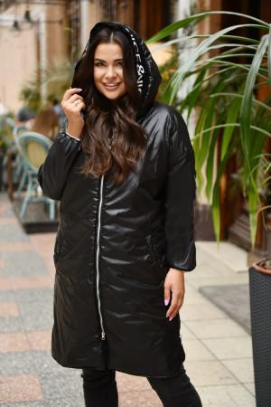 Куртка «Мэрайя» черного цвета