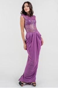 Платье «Джангл» розового цвета