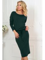 Платье «Мойра» темно-зеленого цвета
