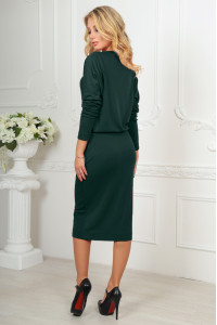 Сукня «Мойра» темно-зеленого кольору
