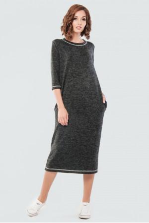 Платье «Энджи» серого цвета
