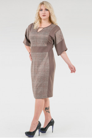 Платье «Норма» цвета капучино