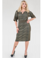 Платье «Норма» цвета хаки