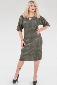 Сукня «Норма» кольору хакі