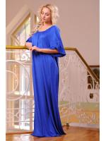 Платье «Джена» цвета электрик