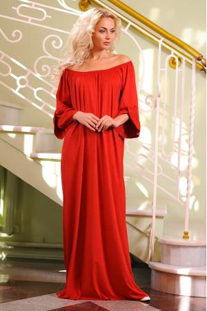 Платье «Джена» красного цвета
