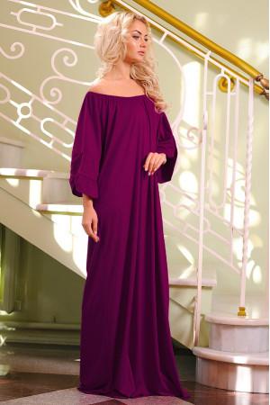 Платье «Джена» бордового цвета