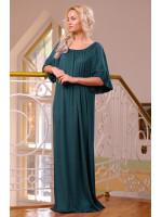 Платье «Джена» темно-зеленого цвета
