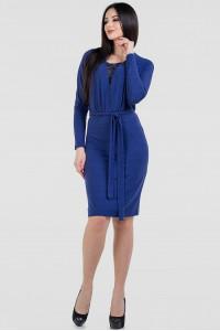 Платье «Тэми» синего цвета
