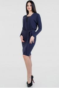 Платье «Тэми» темно-синего цвета