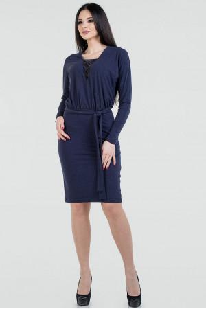 Платье «Тэмми»  темно-синего цвета