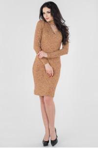 Платье «Санди»  горчичного  цвета