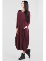 Сукня «Алкмена» бордового кольору