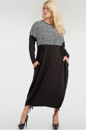 Платье «Бэрил» черного цвета