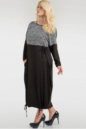 Сукня «Беріл» чорного кольору