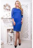 Сукня «Стиль» кольору електрик