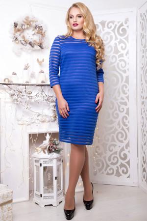 Платье «Стиль» цвета электрик