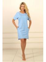 Нічна сорочка НС-М-91 блакитного кольору
