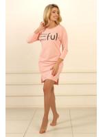 Нічна сорочка НС-М-92 рожевого кольору