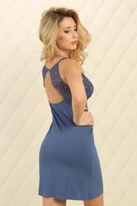 Нічна сорочка НС-М-94 синього кольору