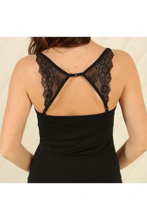 Ночная рубашка НС-М-95 черного цвета