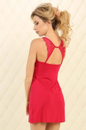 Нічна сорочка НС-М-95 червоного кольору