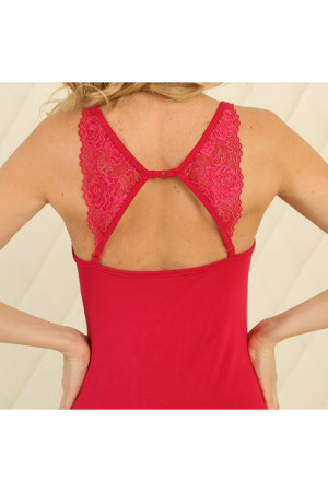 Ночная рубашка НС-М-95 красного цвета