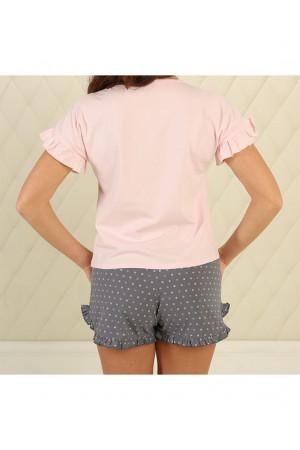 Пижама П-М-75 светло-розового цвета
